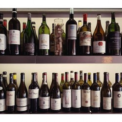 wine testing room